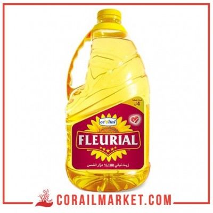huile végétal fleurial 4 l