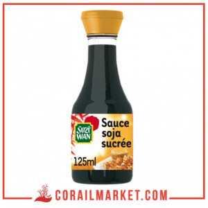 Sauce Soja Allégée en Sel (-43%) SUZI WAN 125 mL