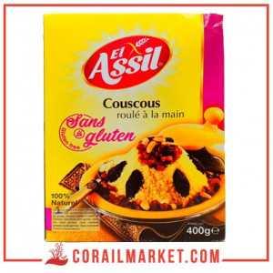 Couscous sans gluten AL-ASSIL 400 G