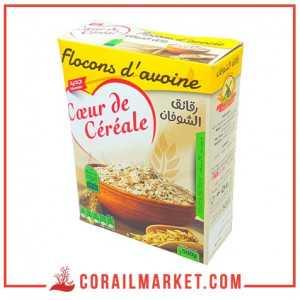 Flocons d'avoine cœur de céréale 500 g