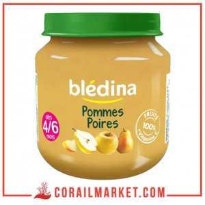 Compote Pomme-abricot blédina 130 g