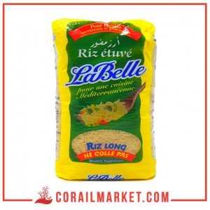 riz étuvé la belle 1 kg