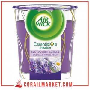 Bougie parfum Cranberry AIR WICK 105 g
