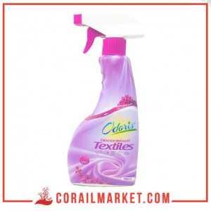Désodorisant textiles senteur des roses odoris palc 750 ml