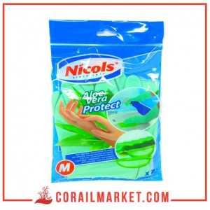 GANTS DE Ménage aux aloé vera nicols