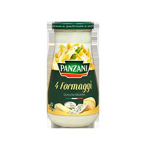 Sauce Panzani 4 fromages 200g