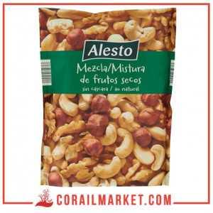 mélange de fruits secs (noisette,noix de cajou,noix,amande) alesto 200 g