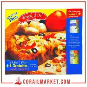 Pâtes à pizza +1 Gratuite sauce tomate 5 pizza