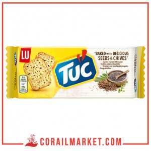 Biscuit salé aux graines et ciboulette tuc lu 105 g