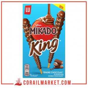 Biscuit stick au chocolat Mikado king lu 51 g